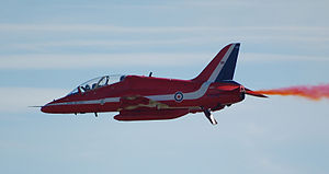 Help for Heroes - Hawk T1 of the RAF Red Arrows