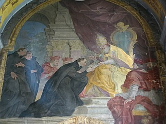 Society of Jesus - Ignatius receiving papal bull