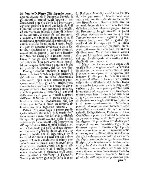 File:Relazione d'una miracolosa guarigione seguita in Sicilia li 7 Gennajo 1762 per intercessione dell'apostolo delle Indie s. Francesco Saverio.djvu
