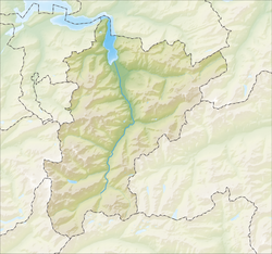 Erstfeld is located in Canton of Uri