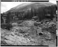 Remains of Cyanide Plant; view from west. - Paramount Mine, Saint Elmo (historical), Chaffee County, CO HAER COLO,8-STEL,1-3.tif