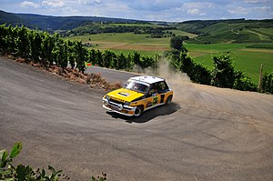 Renault 5 Turbo - R5 Turbo rally version