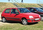 Renault Clio I Phase 3 registered Essex April 1998 1149cc.JPG