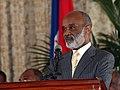 Rene Preval Press Conference.jpg