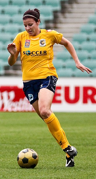 Renee Rollason - Rollason playing for Central Coast Mariners in 2008