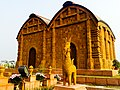 Replica of a temple from Bishnupur at the Eco Park.jpg