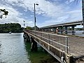 Retained section of old bridge over Tweed River, Chinderah, New South Wales 01.jpg