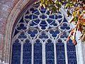Reuleaux triangles on a window of Sint-Salvatorskathedraal, Bruges 3.jpg