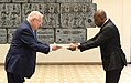Reuven Rivlin received the credentials of new ambassadors (2551).jpg