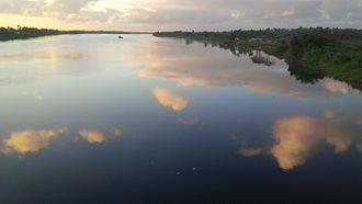 Suva-Nausori corridor - Rewa River from the New Rewa Bridge