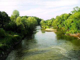 Eastern Neisse river in Poland