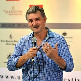 Richard Glover (radio presenter) - Image: Richard Glover, on Why Men Are Necessary (8058652953)