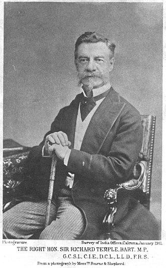 Sir Richard Temple, 1st Baronet - Portrait