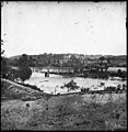 Richmond, Va. Railroad bridge and Old Dominion Iron and Nail Works on Belle Isle LOC cwpb.02735.jpg