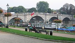 Richmond Bridge over Themsen
