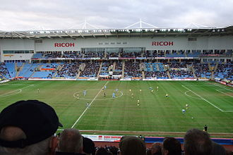 M69 derby - Image: Ricoh Arena Coventry match in progress 2