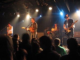 The Rifles (band) - The Rifles in concert in Doornroosje, Nijmegen, Netherlands