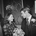 Rijkste man van Denemarken, Gorm Reventlow Girling trouwt in Den Haag met Elisab, Bestanddeelnr 926-6826.jpg