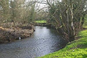 River Arrow, Worcestershire - River Arrow near Alcester