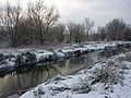 River Gipping in wintry conditions - geograph.org.uk - 1653352.jpg