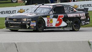 JR Motorsports - Johnny O'Connell at Road America in 2013.