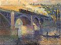 Robert Antoine Pinchon, Le Pont aux Anglais, soleil couchant, 1905, oil on canvas, 54 x 73 cm, Musée des Beaux-Arts de Rouen.jpg