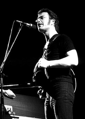 Robert Fripp, playing with King Crimson