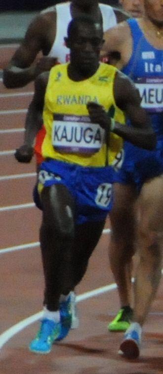 Rwanda at the 2012 Summer Olympics - Robert Kajuga finished 14th in the men's 10,000 metres