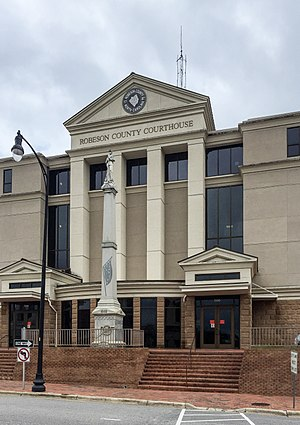 Robeson County Courthouse in Lumberton