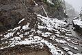 Rock slide above The Loop, 6-18-2014 (14274714469).jpg