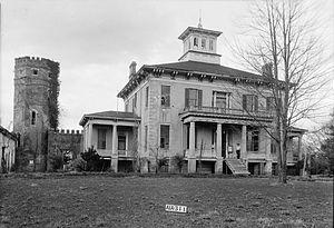 Rocky Hill Castle - Rocky Hill Castle in 1935