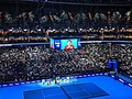 Roger Federer v Novak Djokovic at 2019 ATP Finals (49070651966).jpg