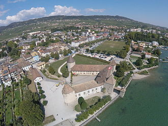 Rolle - Rolle, aerial view