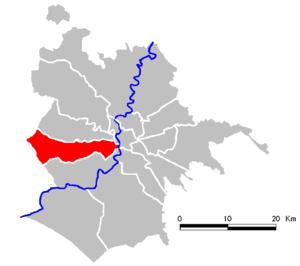 Municipio XII - Image: Roma Municipio XII