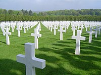 A World War I graveyard in northern France