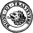Rome rione XIII trastevere logo.png