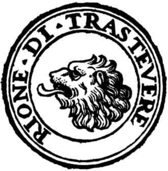 Trastevere - Logo of the rione