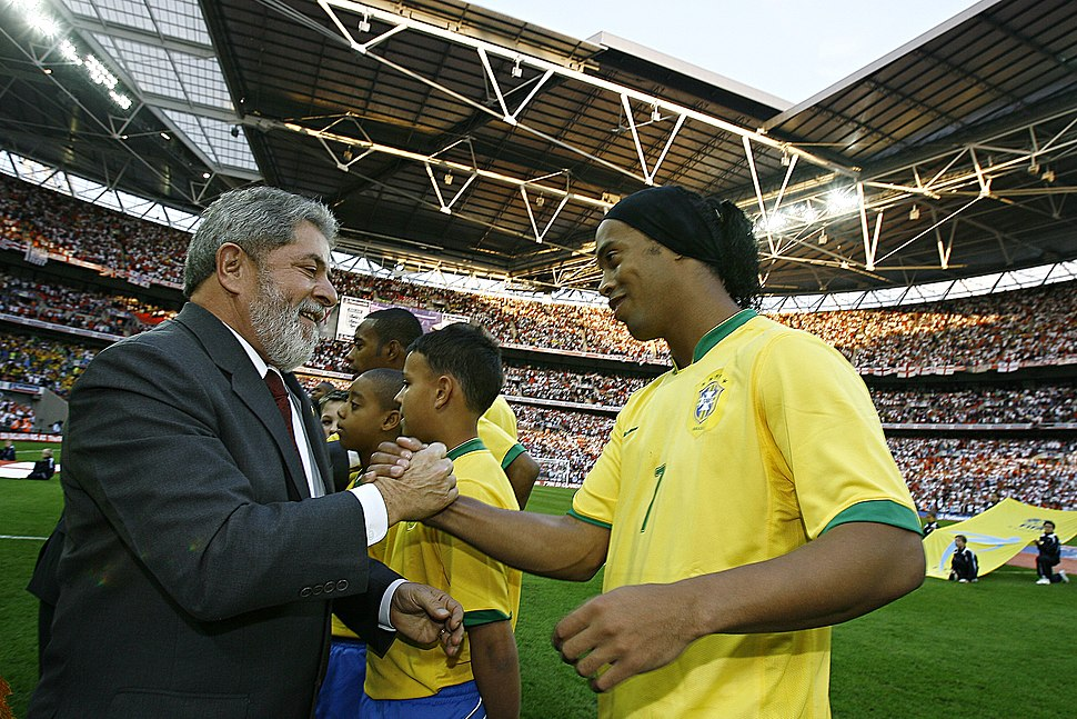 Ronaldinho and Lula