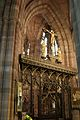 Rood screen in the Church of the Holy Angels, Hoar Cross.jpg