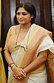 Roopa Ganguly at a Swearing-in Ceremony, at Parliament House, in New Delhi.jpg