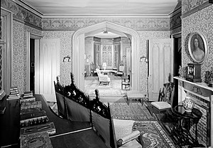 Roseland Cottage - Interior view