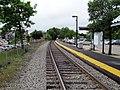 Roslindale Village station platform, May 2012.JPG