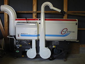 Rice huller - An electric rotary huller