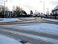 Roundabout where Devlin Drive meets The Street - geograph.org.uk - 1654984.jpg