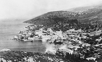 Cephalonia - Fiskardo in the 1940s.