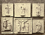 Royal Architectural Museum. Plaster Casts (Panels) from the Tombs of the Scagliere in Verona (3610764069).jpg