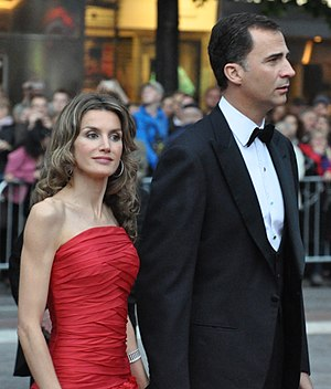 Queen Letizia of Spain - The Prince and Princess of Asturias at the wedding of the Crown Princess of Sweden in 2010