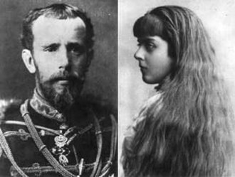 Mayerling incident - Crown Prince Rudolf and Baroness Mary Vetsera