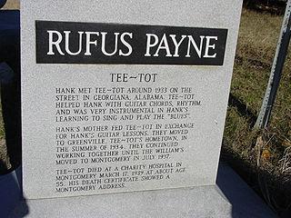Rufus Payne American musician