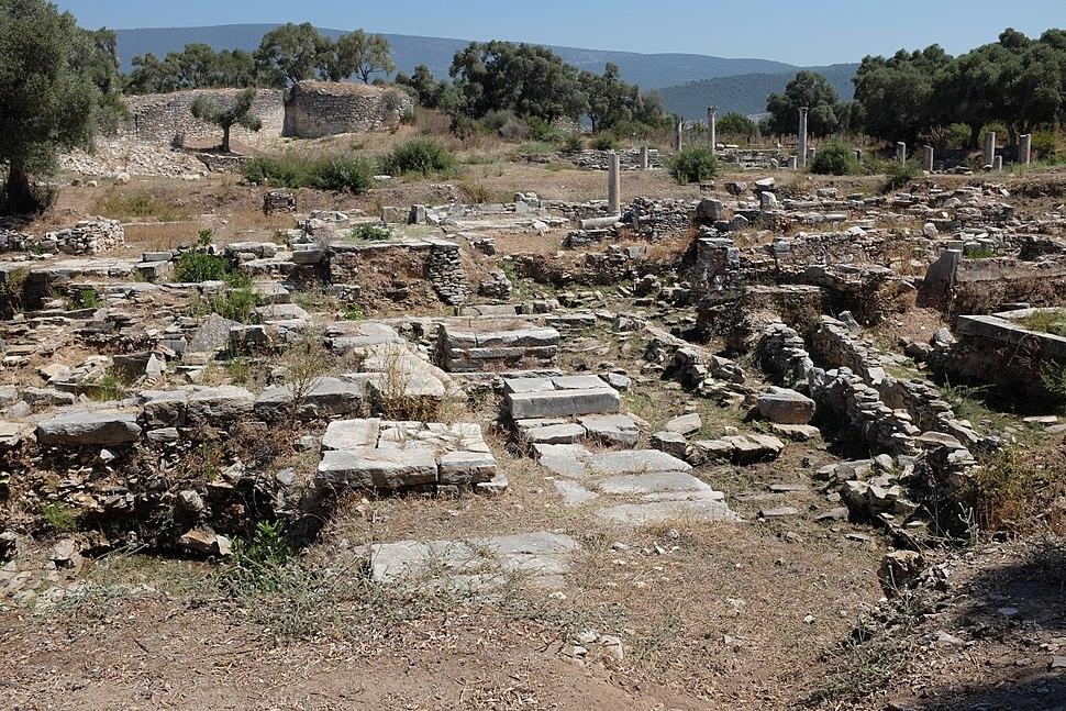 Ruins on agora of Iasos AvL
